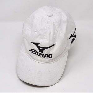 Mizuno Curved Bill Strapback Hat One Size Fits All